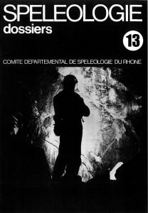 Spéléo-Dossiers n°13 (1977)