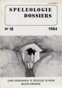Spéléo-Dossiers n°18 (1984)