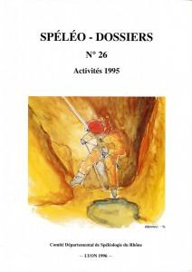 Spéléo-Dossiers n°26 (1996)