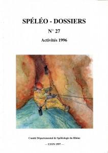 Spéléo-Dossiers n°27 (1997)