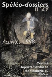 Spéléo-Dossiers n°29 (1999)