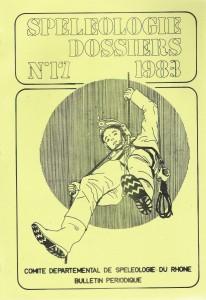 Spéléo-Dossiers n°17 (1983)