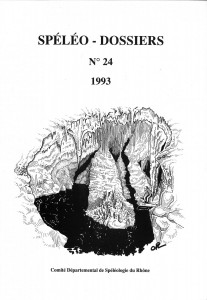 Spéléo-Dossiers n°24 (1993)