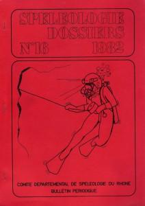 Spéléo-Dossiers n°16 (1982)