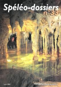 Spéléo-Dossiers n°33 (2003)