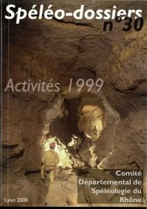Spéléo-Dossiers n°30 (2000)